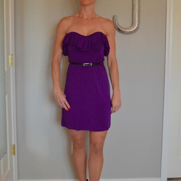 Buffalo David Bitton Dresses & Skirts - Purple multi wear dress